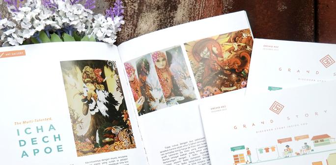 dechapoe art on grand story magazine
